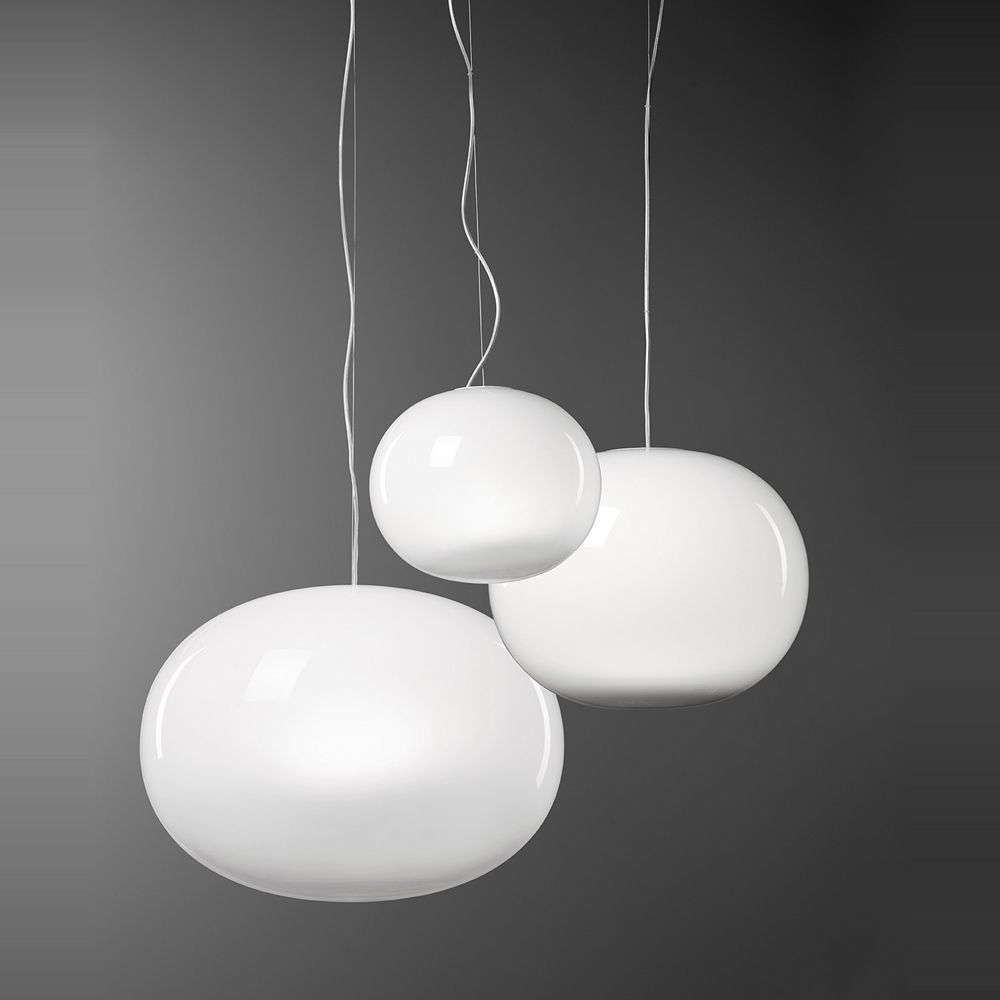 Aria italienische h ngeleuchte mit mundgeblasenem for Lampen n und l