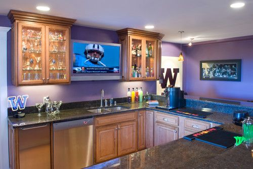 Basement Sports Bar. Basement Sports Room Design, Pictures, Remodel, Decor  And Ideas