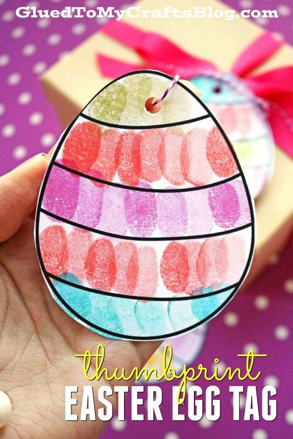 Thumbprint easter egg gift tags free template free printable thumbprint easter egg gift tags free template free printable easter and egg negle Gallery