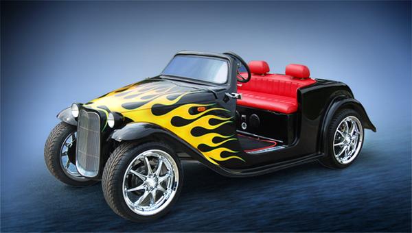 Custom California Roadster, Neighborhood Electric Vehicle