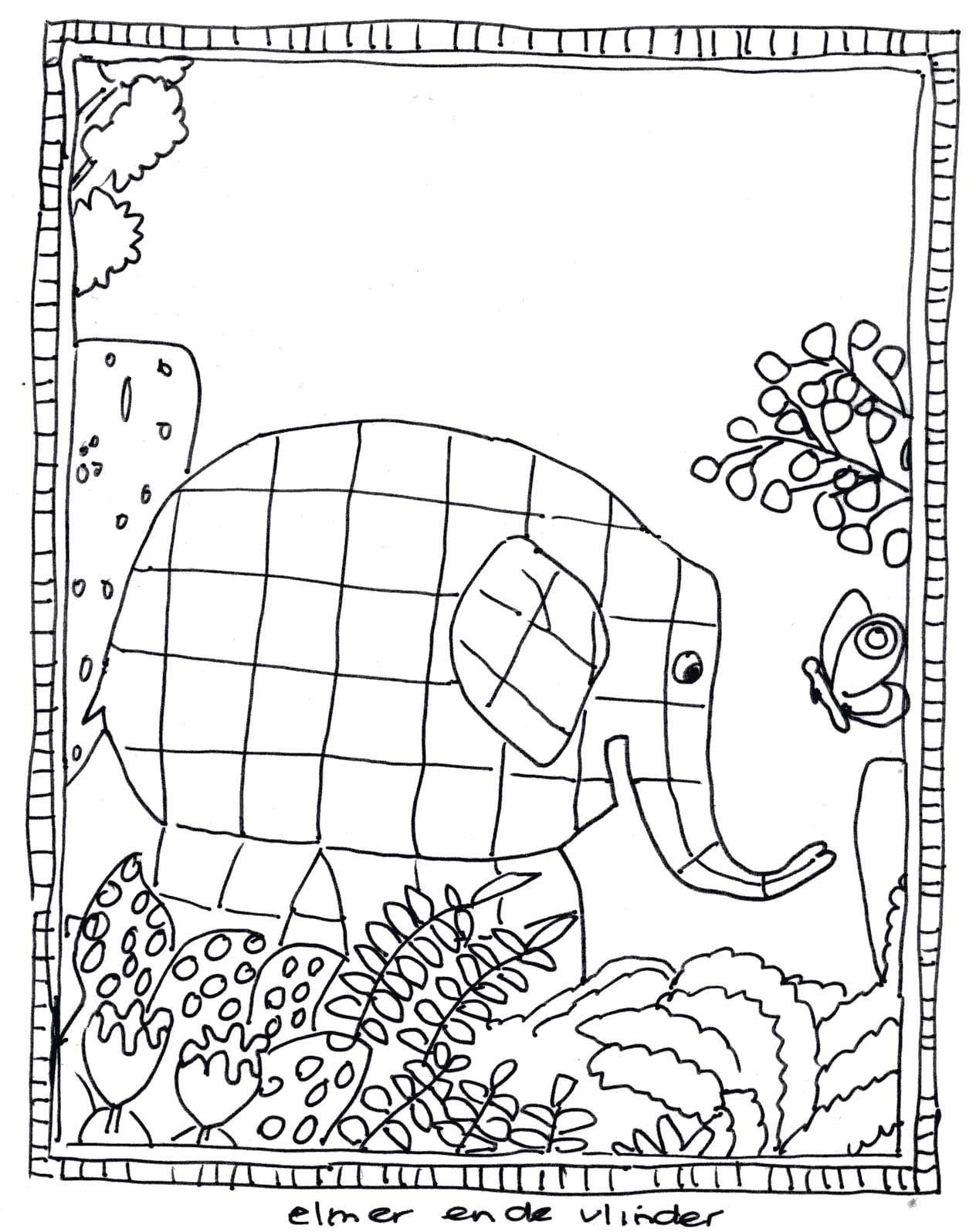 Pin von Karin Roosendaal auf Elmer Knutselideeën   Elmar ...