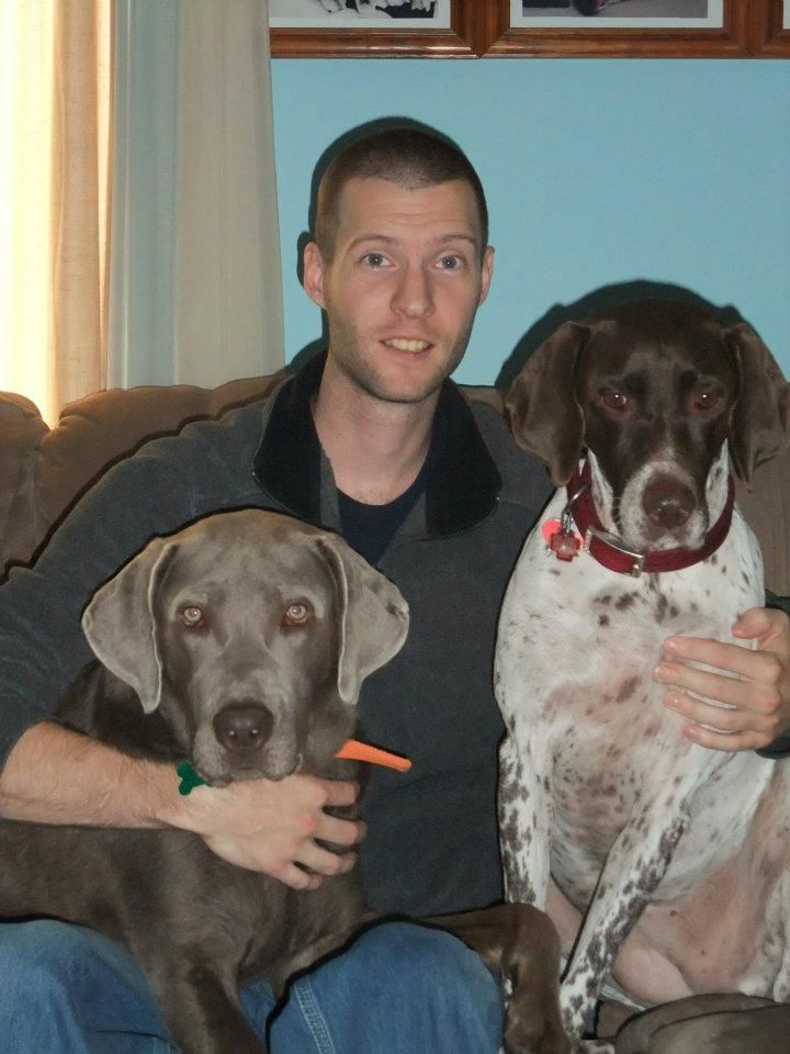 Son with Diesel and Brooks