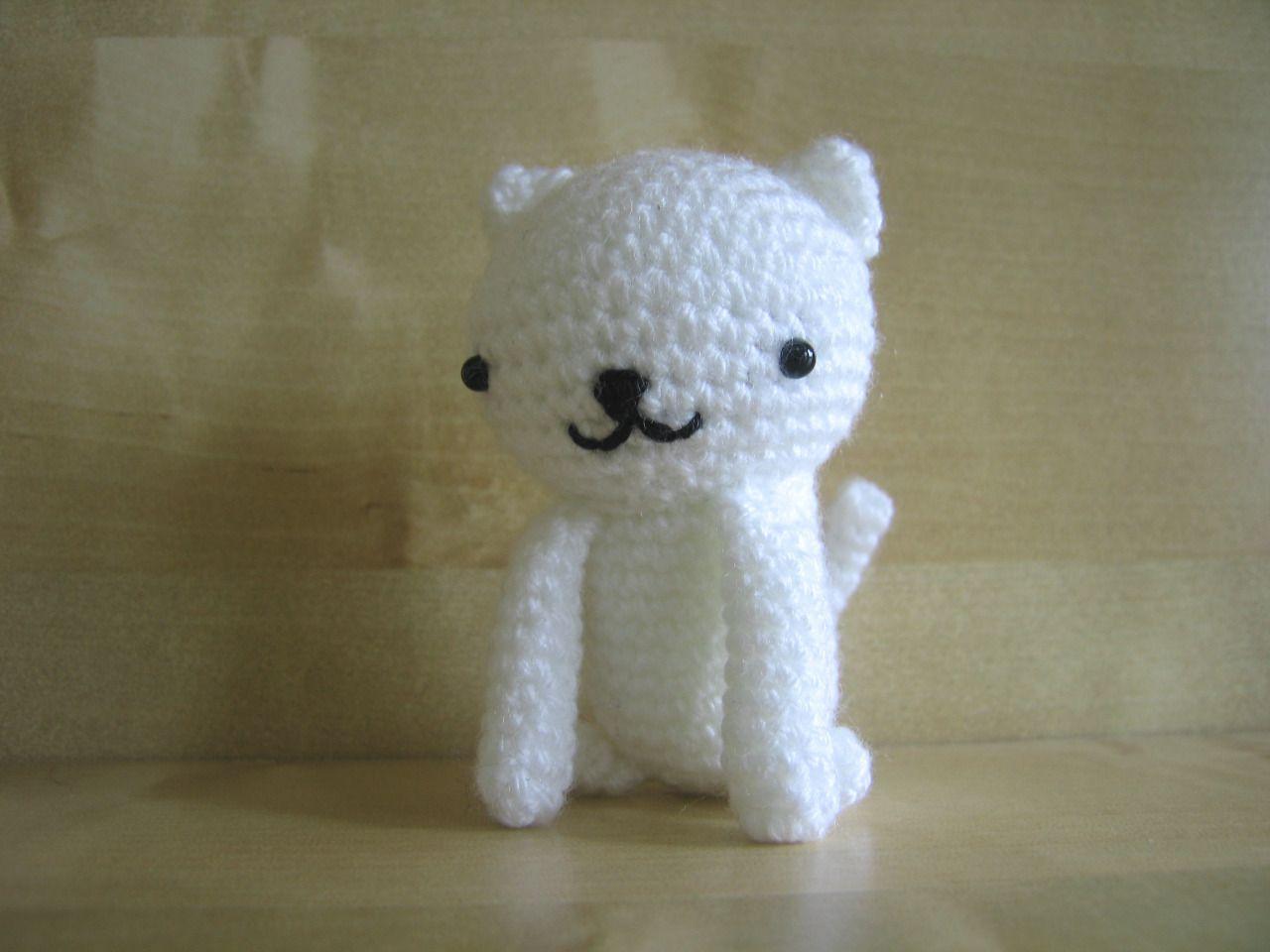Free Amigurumi Cat : Free: neko atsume pattern #1 neko atsume amigurumi patterns and
