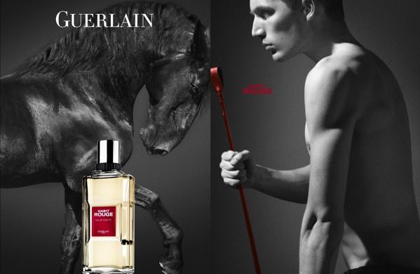 Parfum homme Guerlain Habit Rouge - L'homme Tendance | Parfum homme, Pub  parfum homme, Parfum