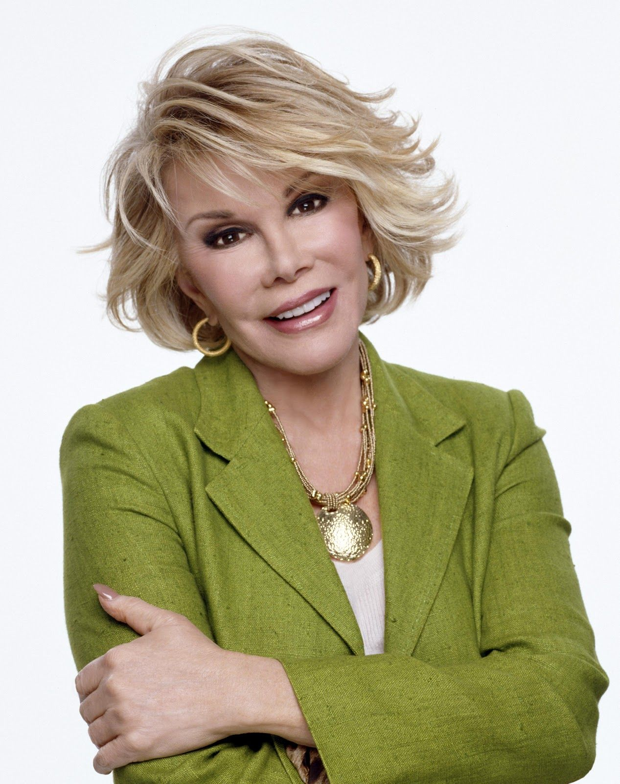Funny Lady Joan Rivers I Think I Should Have My Hair This Way When Im Older My Hair Hair Beauty Womens Hairstyles