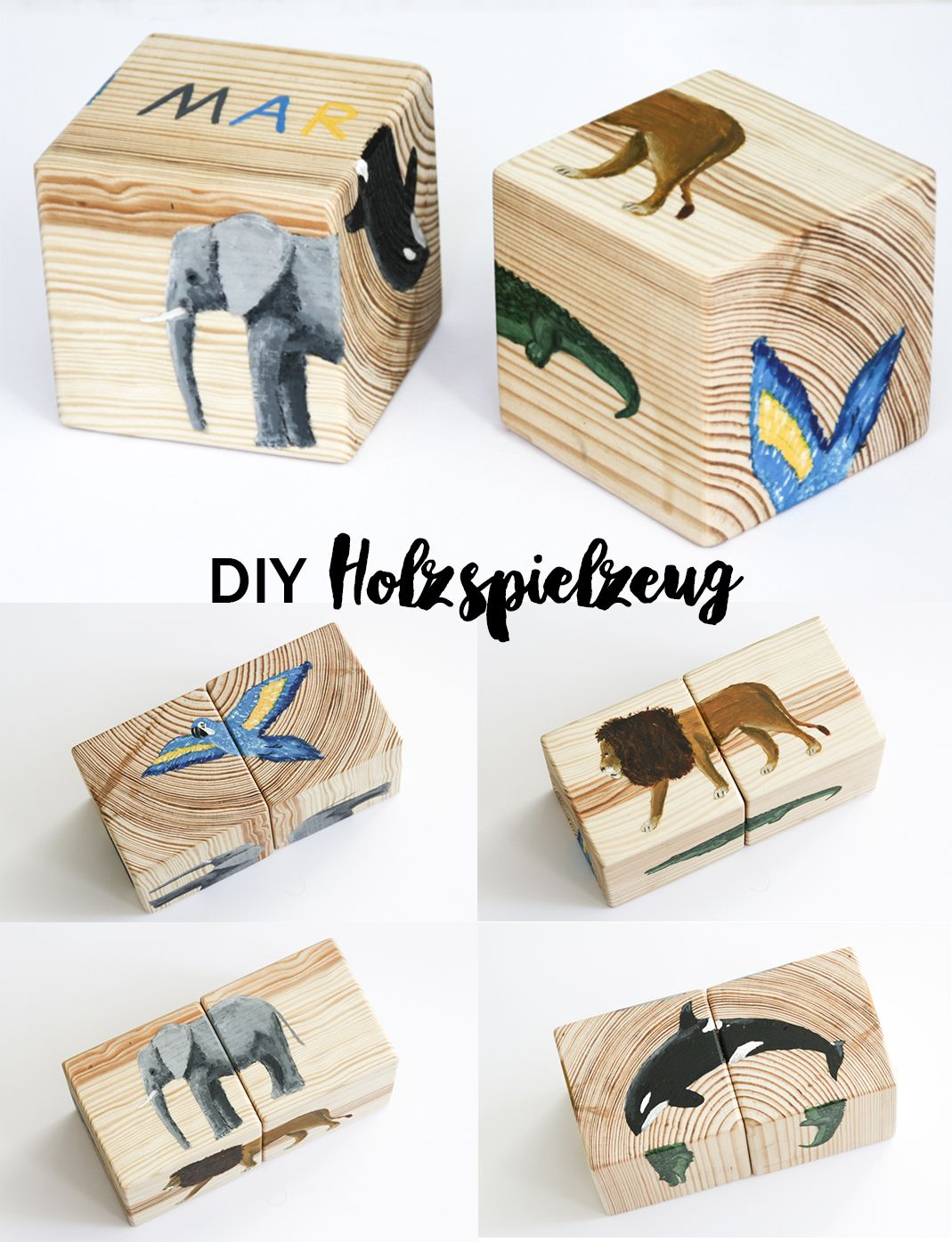 diy holzspielzeug selbstgemacht schereleimpapier diy upcycling pinterest puzzles f r. Black Bedroom Furniture Sets. Home Design Ideas