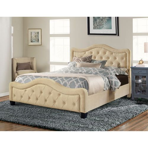 Whittier Buckwheat King Complete Bed King Size Bed Mattress Box