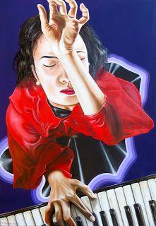 MAURO BARONCINI ARTE: PIANO PIANO.... FORTE  olio su tela cm.70x100 - Lu...