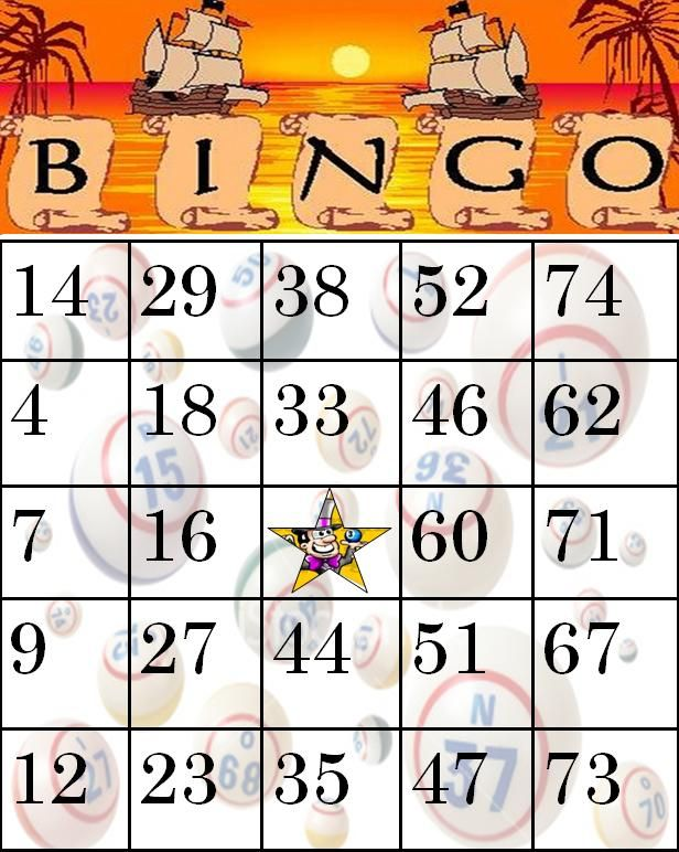 Bingo Card Template Bingo card template, Card templates and Template - sample cards