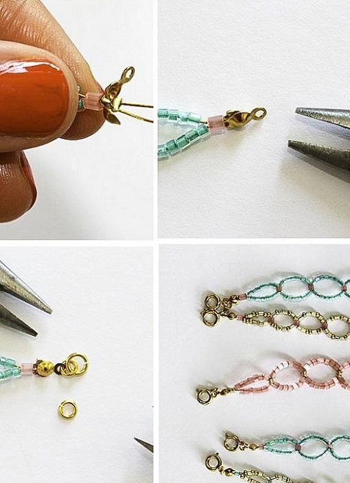 Nuevo tutorial para hacer pulseras de abalorios fciles Descubre un