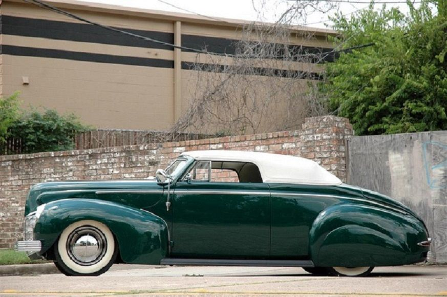 1940 Mercury Series 09A Custom Coupe with sim convertible top ...