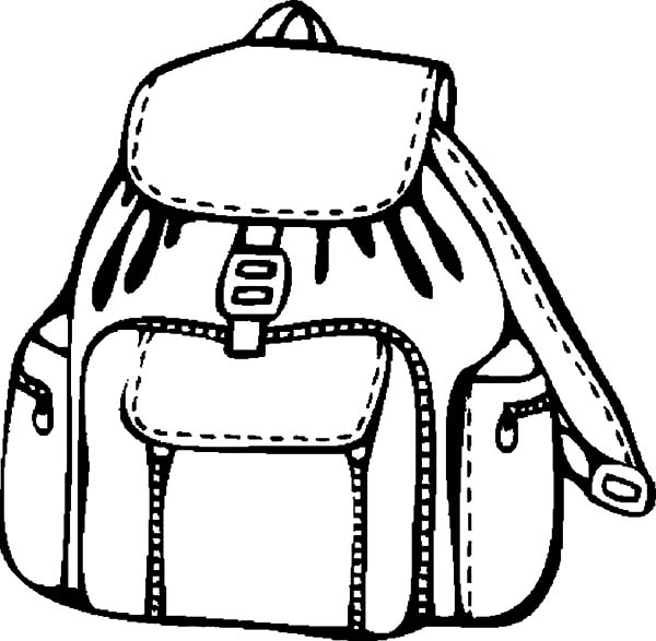 Pin By Tocolor On Backpack Coloring Pages Coloring Pages Color Technical Drawing