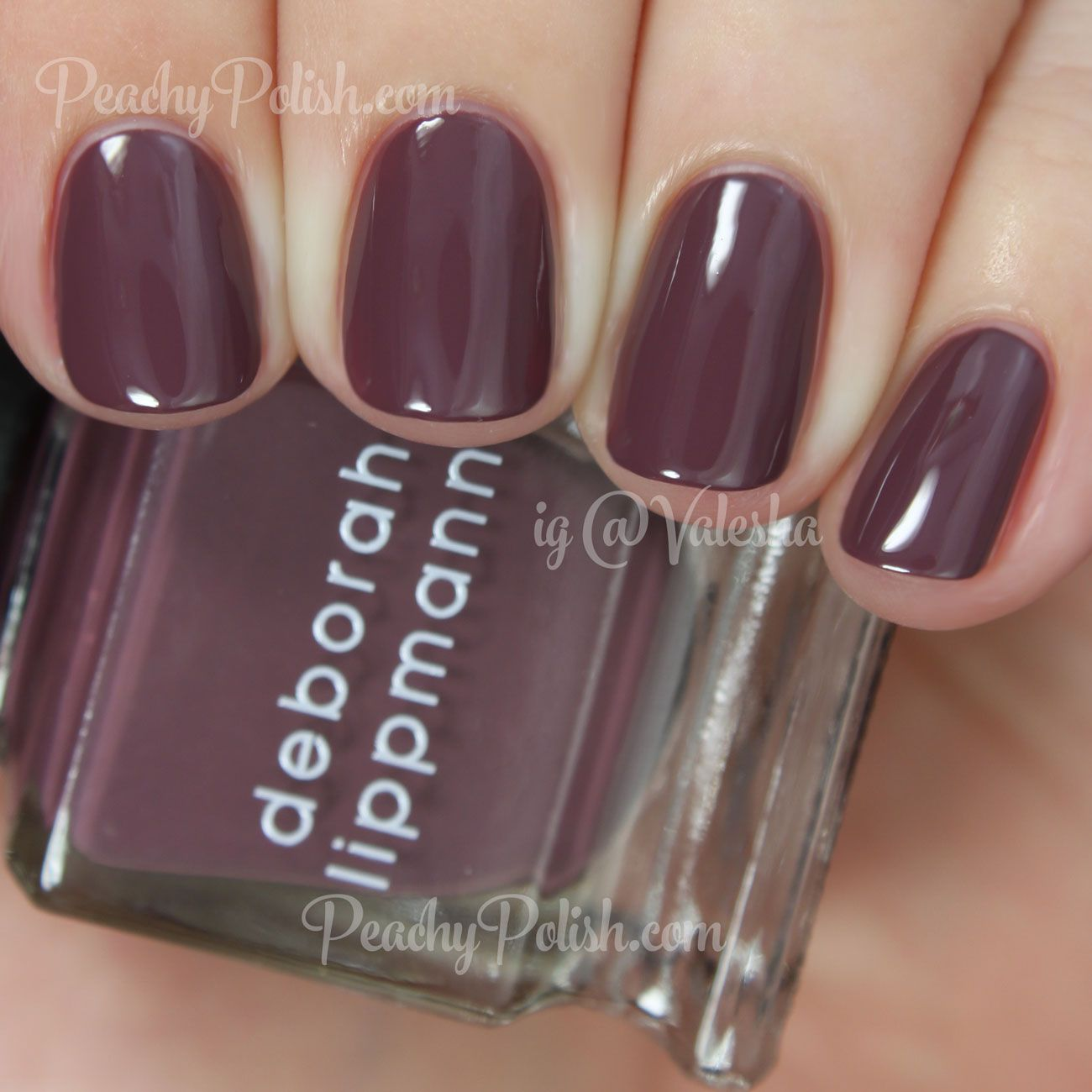 Deborah Lippmann Let\'s Stay Together | Peachy Polish | Beauty/ Nails ...