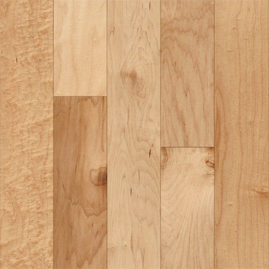 Style Selections 5 In W Prefinished Maple Locking Hardwood