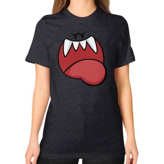 Peekabooo Unisex T-Shirt (on woman)