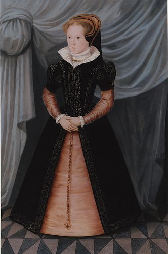Portrait of Mary Tudor, Queen Mary I (1516 - 1558), circa 1550s by lisby1, via Flickr