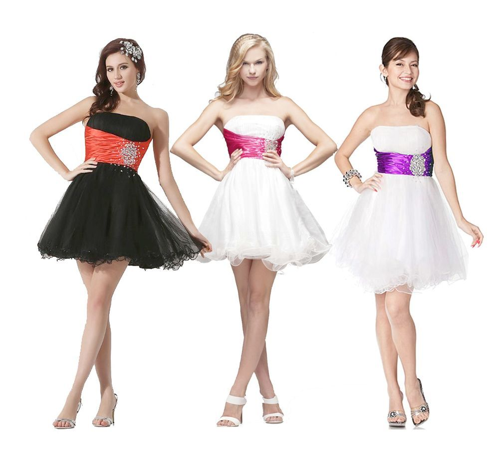 Faironly girl short hot cocktail homecoming evening dress size