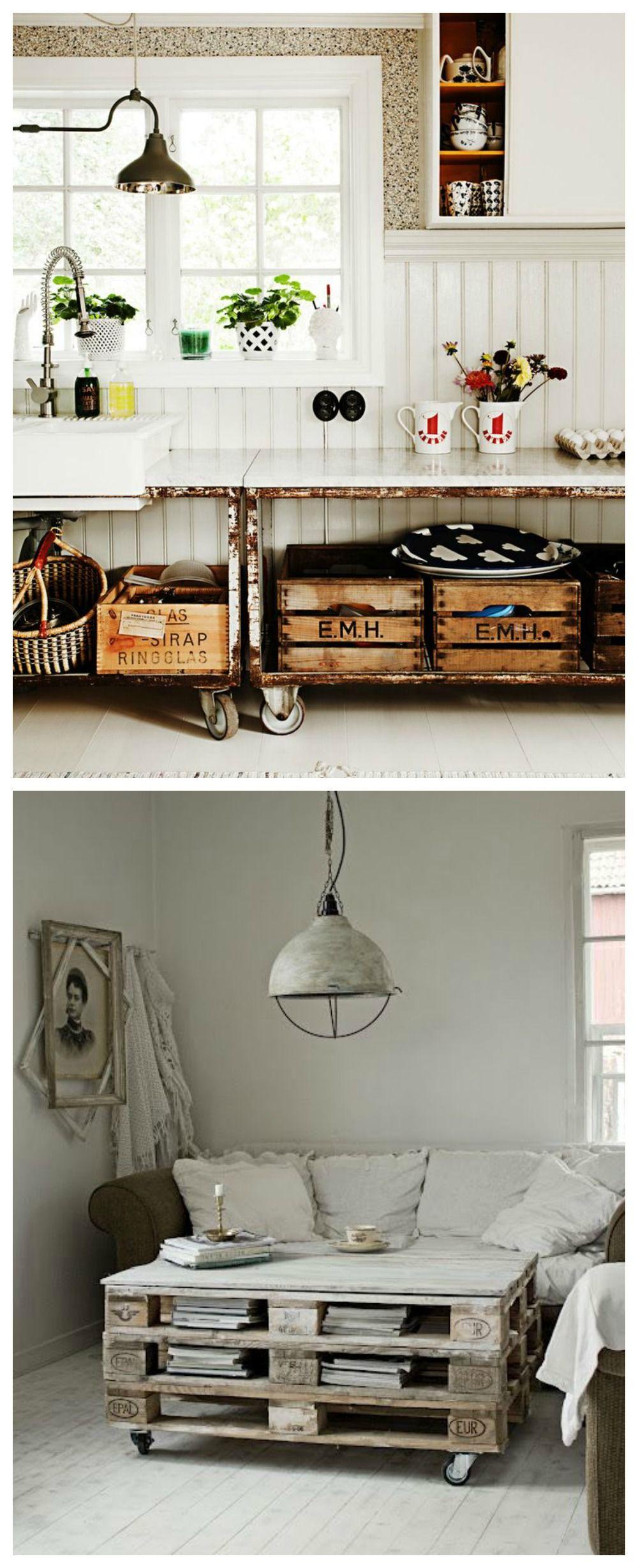 Estilo Industrial Tendencias Deco Pinterest Muebles De  # Tendencia Raw Muebles