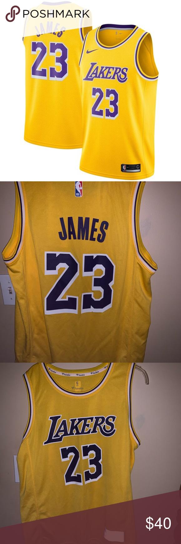 LeBron James LA Lakers 2018/19 Jersey