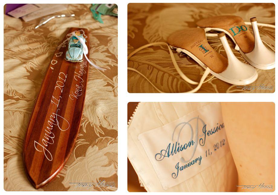 Hawaiian Wedding Gift Ideas: Koa Wood Wedding Gift