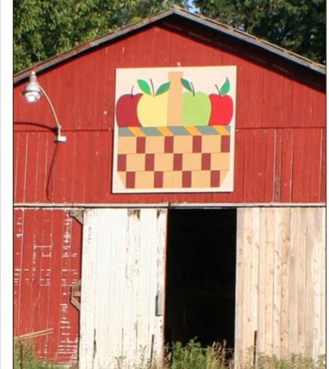 Here\'s a Barn Quilt you haven\'t seen before! Photo taken in ...