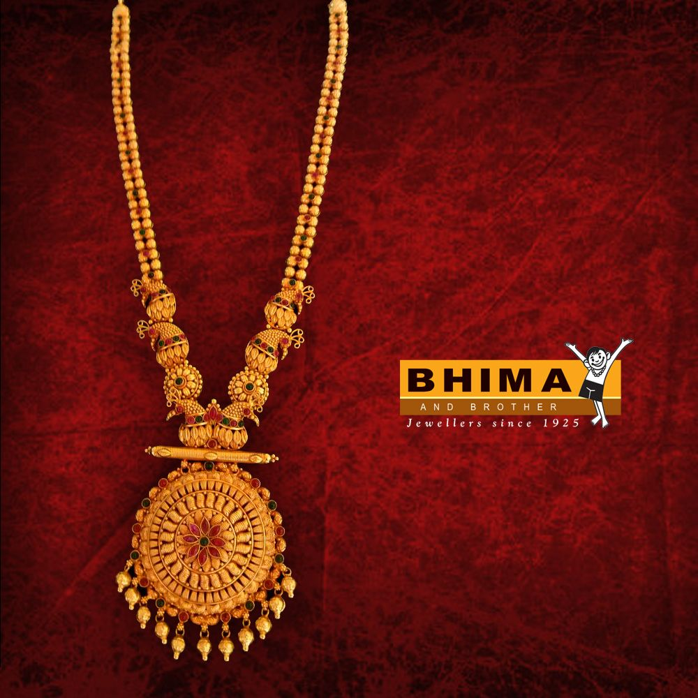 9578c8dc329b7 Bhima #jewelry #traditional #gold #chain | Bhima Jewellery ...