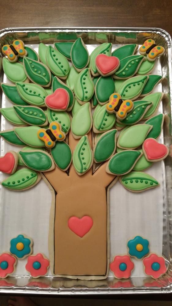 Reunion Cookie Tree