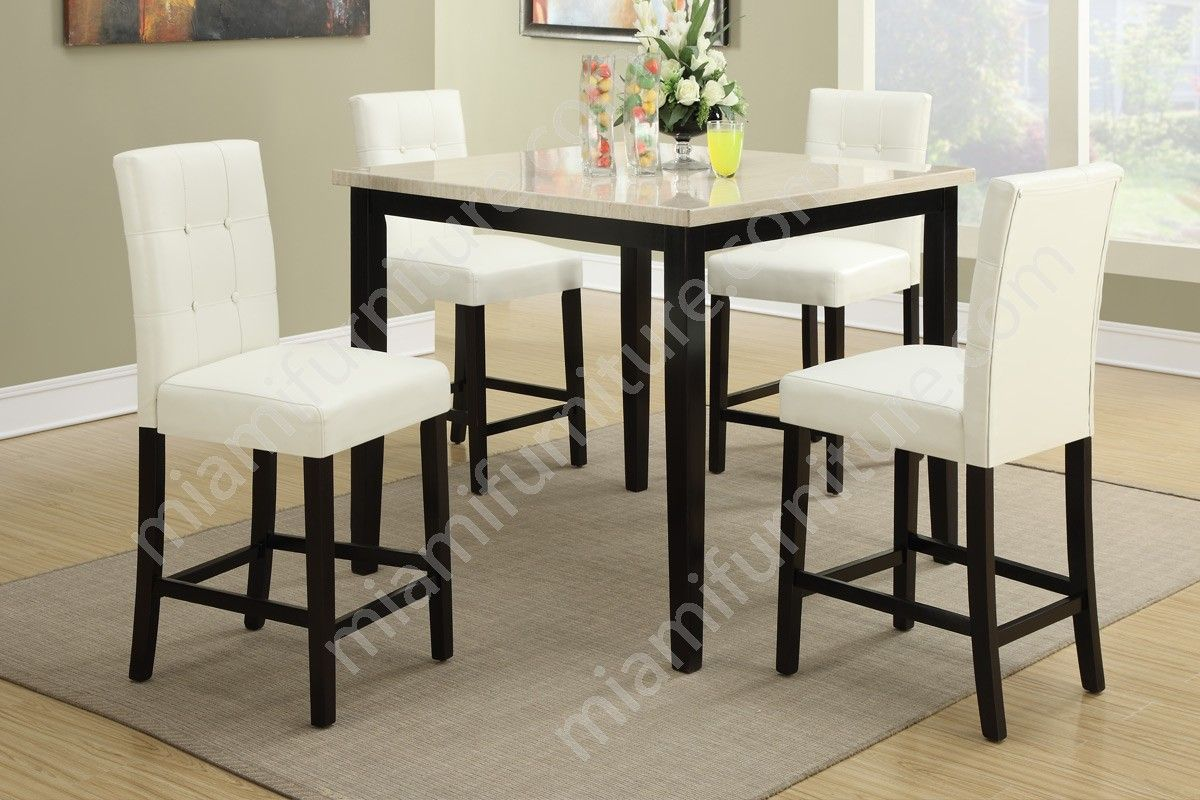 Exceptionnel F2338 F1148 Keilin 5 Piece Dining Set   Miami Furniture