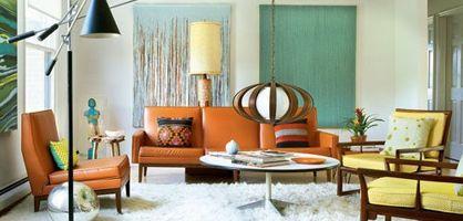 Amazing Retro Living Room