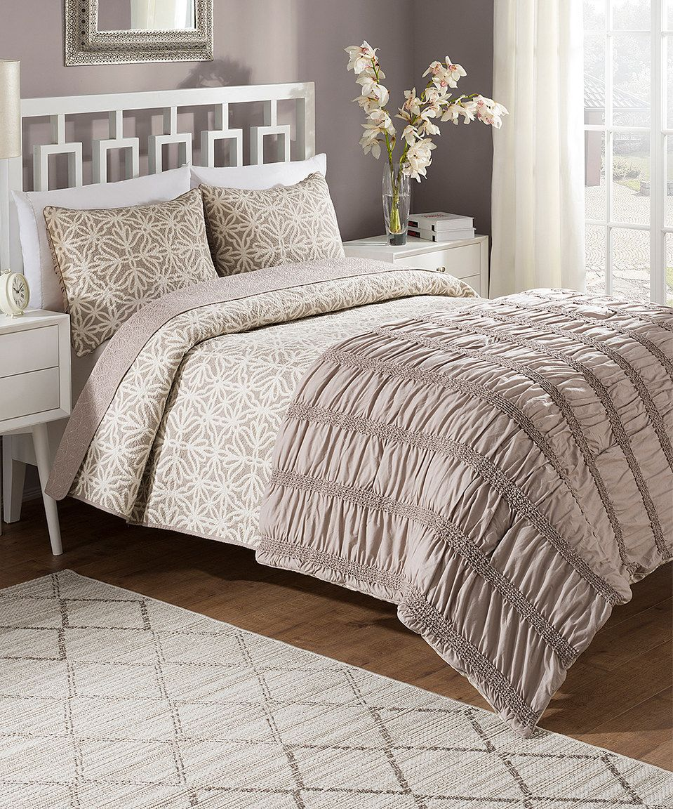 Captivating Love This Bettina Comforter U0026 Quilt Set By Crest Home, Estate On #zulily!