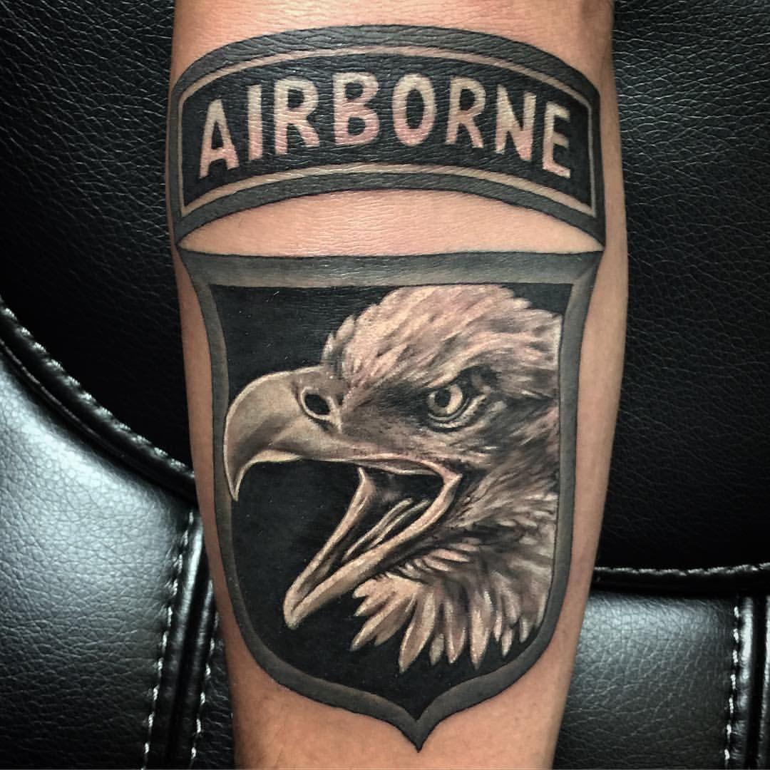 101st tattoo Military tattoos, Tattoos, Animal tattoo