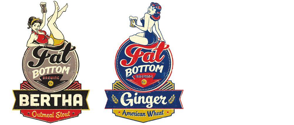 Fat Bottom Flavor Logos