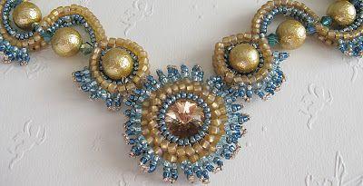 Not without my beads – Nicht ohne meine Perlen: Neues Collier / New Collar
