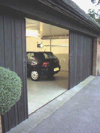 Horizontally Tracked Sliding Doors Automation Garage Pinterest