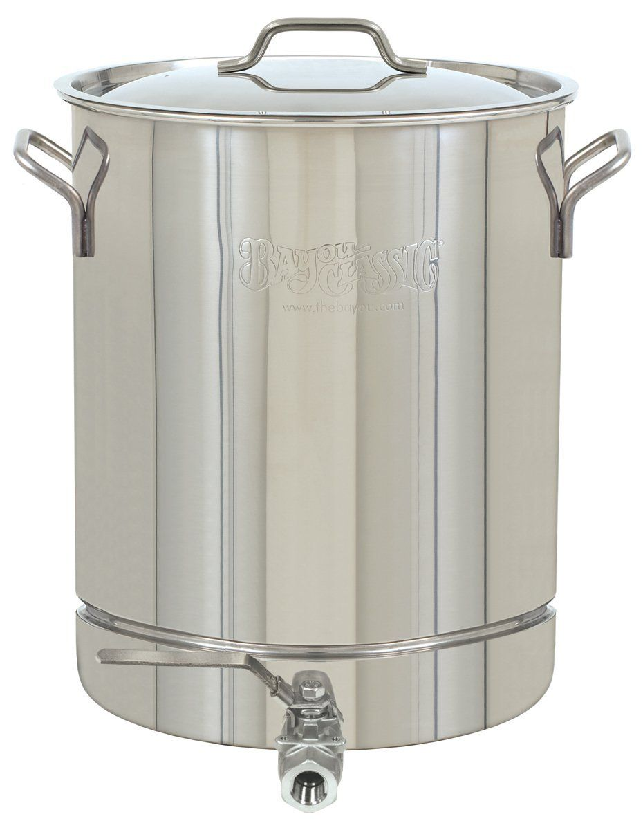 Bayou classic 1064 stainless 16gallon stockpot with