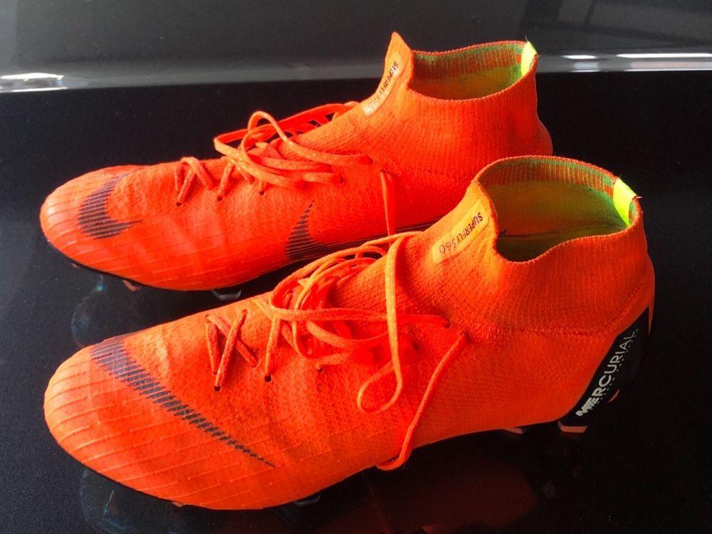 0076bae51 Nike Mercurial Superfly 6 Elite FG 360 Soccer Cleats - Flyknit - Vapor-  Orange  Nike