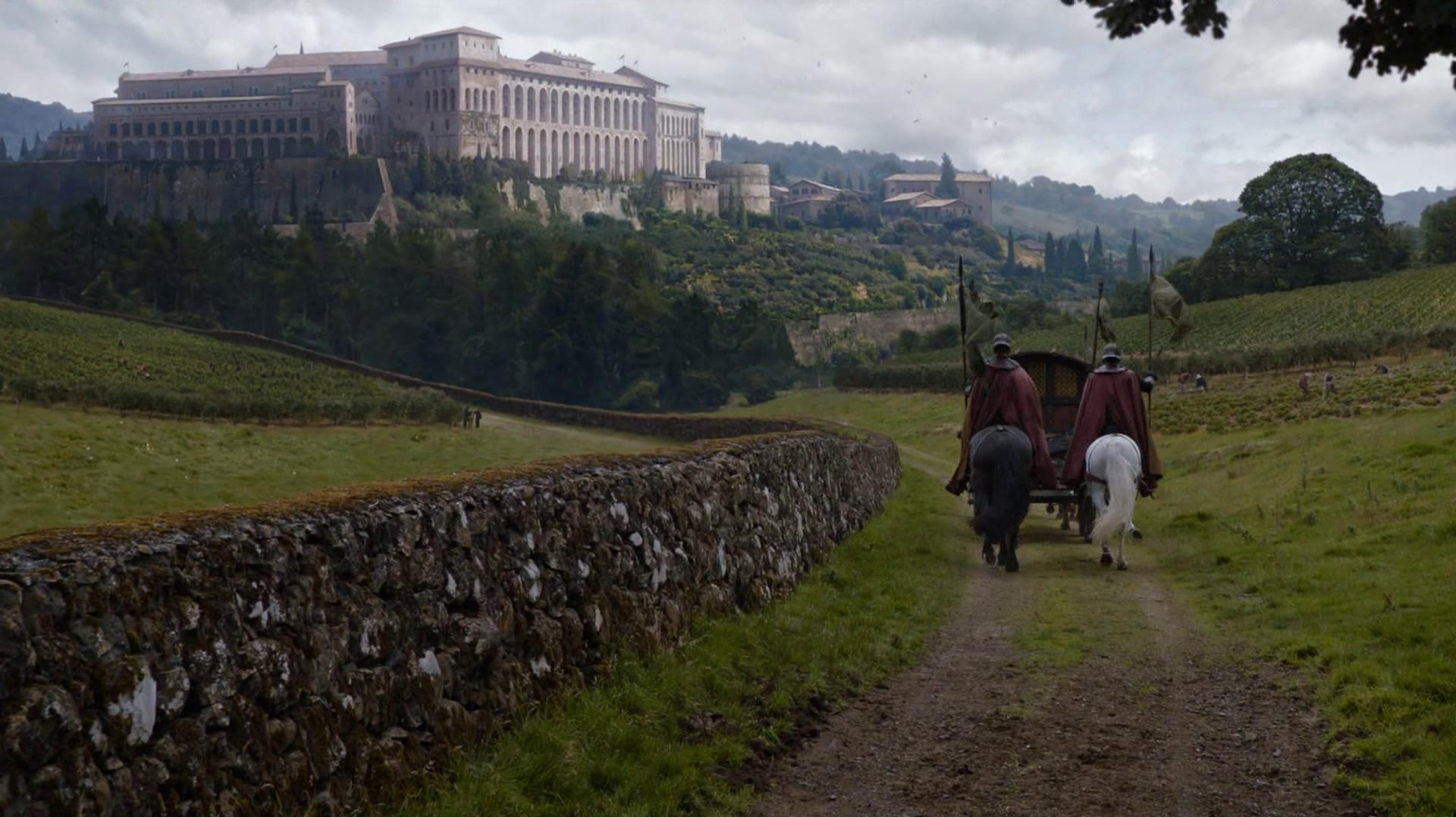 Horn Hill, the seat of House Tarly in the Reach Castelos