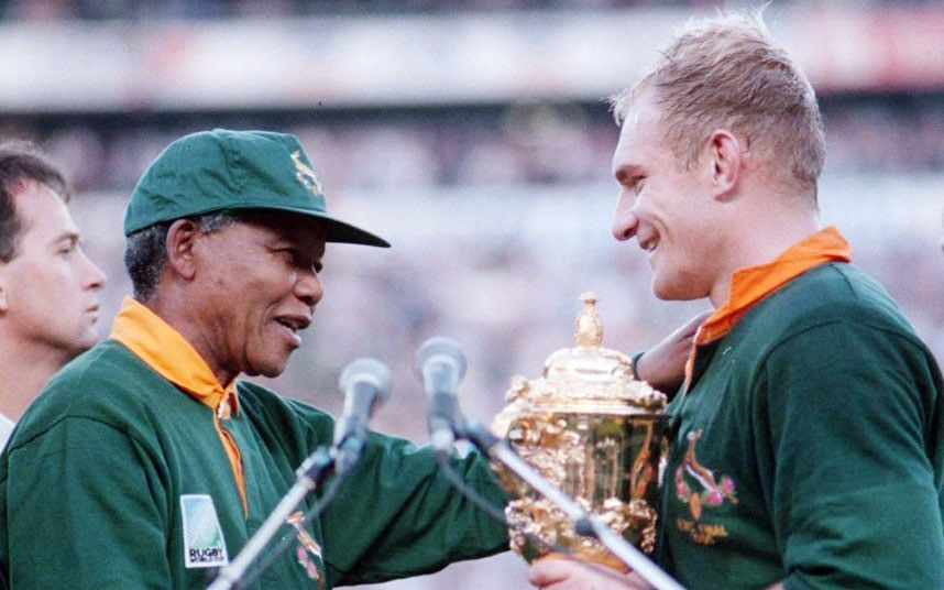 Nelson Mandela Seized The Opportunity Of The Rugby World Cup 1995 Rugby World Cup Nelson Mandela World Cup