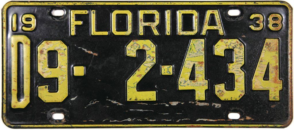 Yamaha License Plate// Black Tag W// White letters