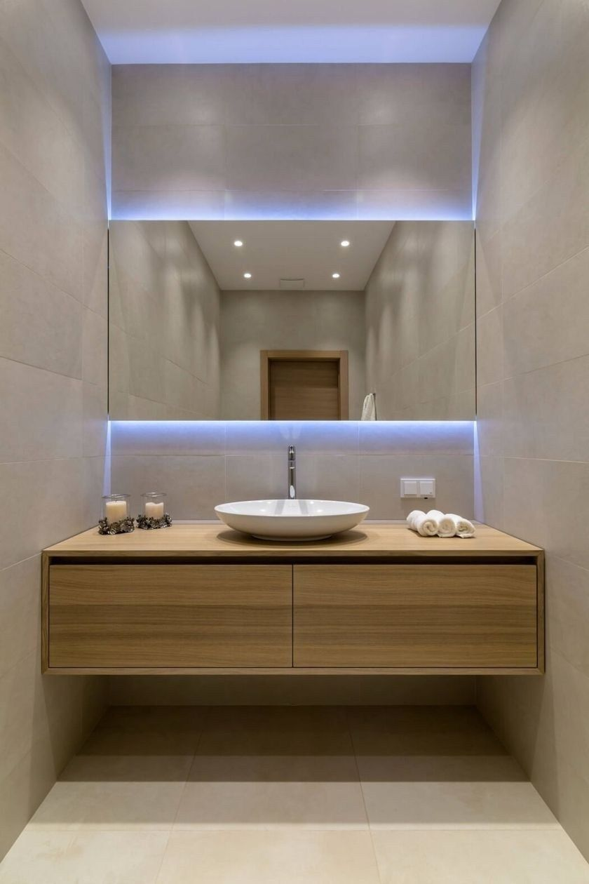 34 Cheap And Lovely Small Office Bathroom Designs Ideas