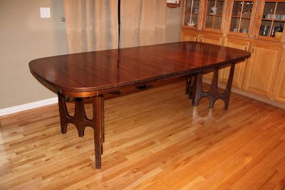 Broyhill Brasilia Ii Dining Table Dining Table Art Deco