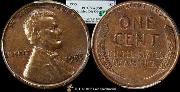 The 1955 Doubled Die Lincoln Cent The Coin That Really Energized Mint Error Collecting Making It One Of The Most Active Area Coins Valuable Coins Coin Values