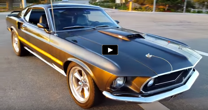 Astonishing 1969 Mustang Mach 1 Matching Numbers