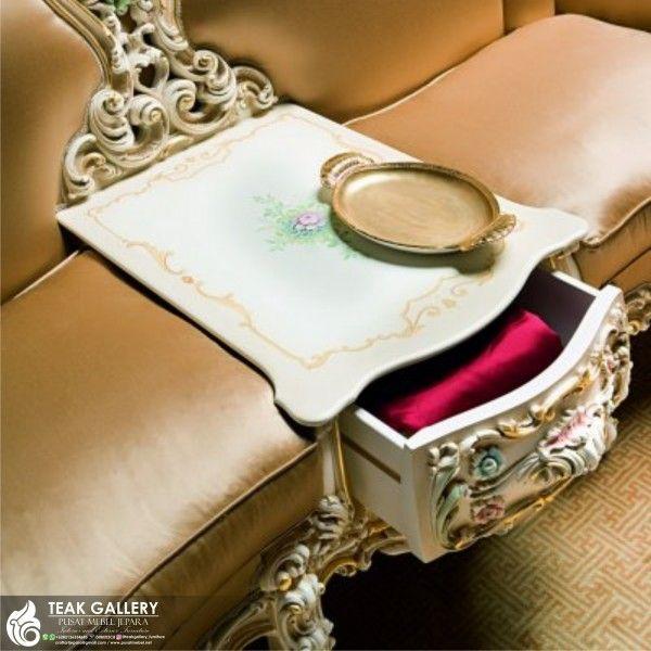 Sofa Santai Ruang Keluarga Mewah Klasik Desain Sofa Santai Ruang