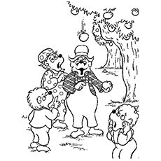 Top 25 Free Printable Berenstain Bears Coloring Pages Online Bear Coloring Pages Cartoon Coloring Pages Coloring Pages