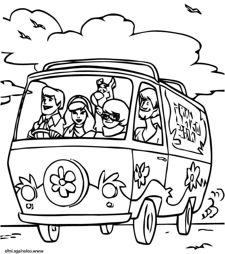 32 Parfait Scooby Doo Coloriage Images   Coloriage, Pages de ...