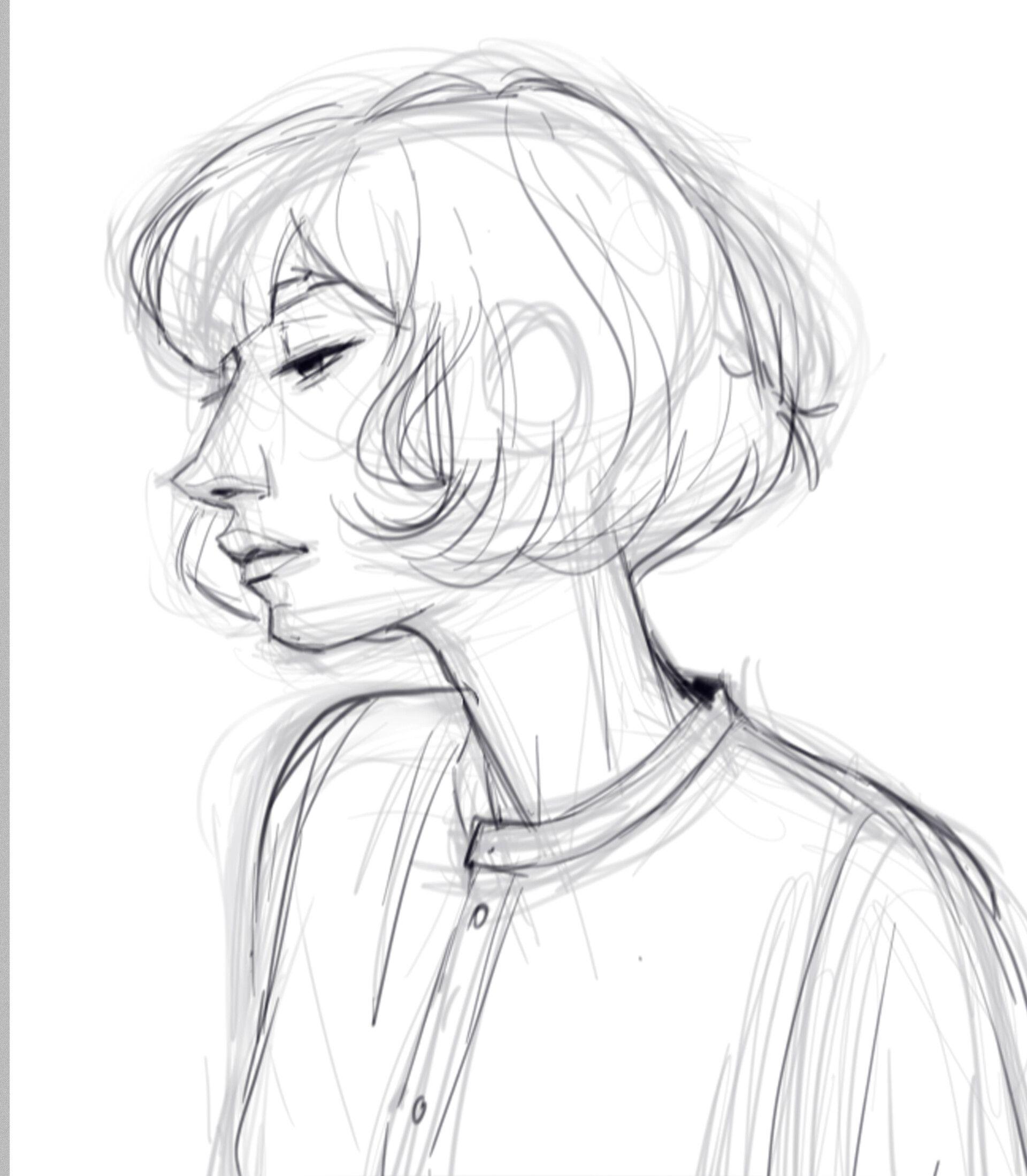 ArtStation StudyPeople_7, Meybis Ruiz Cruz Character