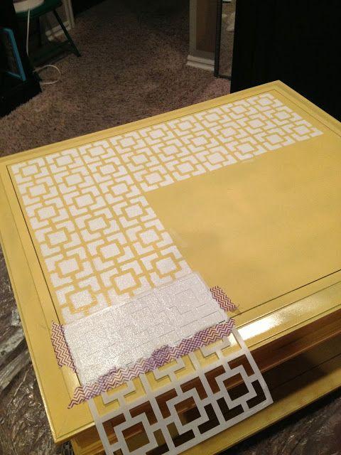 DIY Moroccan Furniture Stencils