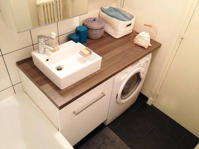Aménagement petite salle de bain Small space interior Pinterest