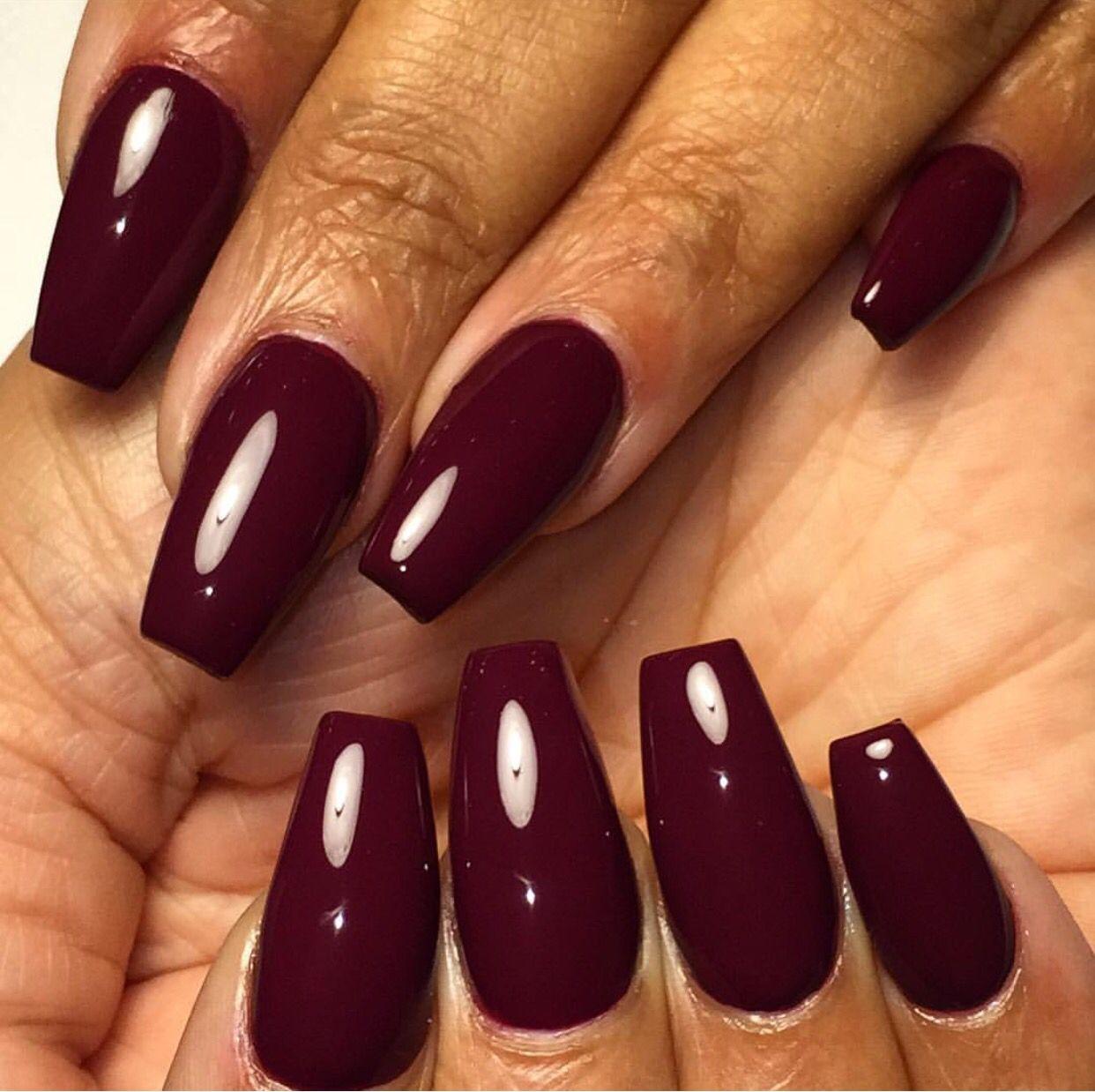 Fall coffin nails | Nails | Pinterest | Coffin nails, Nail nail and ...
